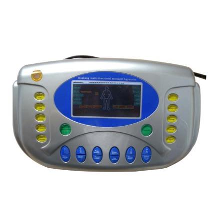 """HK-D508A kombinationsapparat för ultraljud, tens, ems, laser och IR-värme - allt-i-ett. """"Den perfekta hemmakliniken""""."""